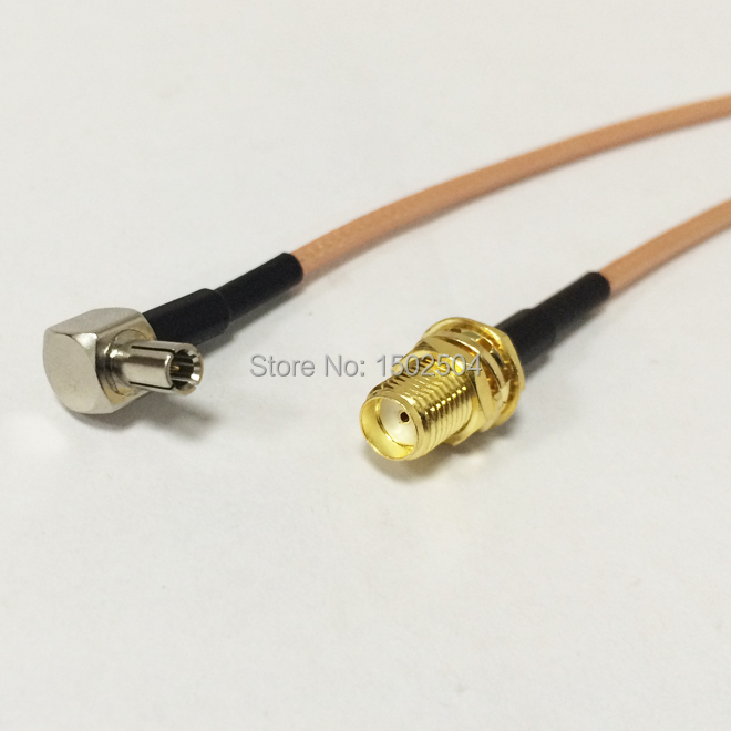 New SMA  Female Jack  Connector  Switch TS9  Convertor RG316 Wholesale Fast Ship 15CM 6 Adapter<br><br>Aliexpress