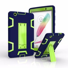 3 in 1 Shockproof Hybrid Heavy Armor Combo Robot Silicon+PC+TPU Stand Case For LG G PAD 3 8.0 V525 V521 V520 child case cover