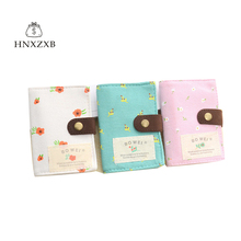 HNXZXB Portable Slots 2sided Plastic Card Holder Size Small Multicolor Business Card Pack Bus Card Bag Women Purses Men Wallet(China)