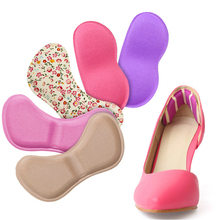 Leather Shoes High Heels Silica Gel Slip-resistant Foot Shoes Stickers Women Shoes Personality Multicolor  Ambitus