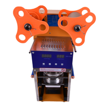New  bubble tea cup sealing machine  Fully Automatic Stainless Steel Plastic Bubble Tea Sealing Machine Cup Sealer Cup