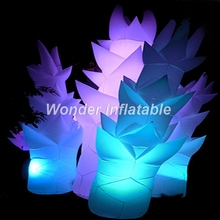 Party decoration LED light Inflatable tree LED lighting Inflatable bamboo shoot decorative Inflatable pillar