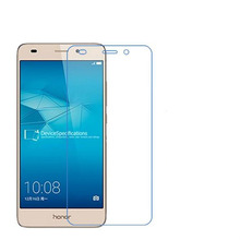 3 PCS HD phone film PE touch preserving eyesight for HUAWEI Honor 5C screen protector +Wipe wipes(China)