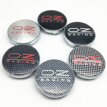 4pcs 56mm 60mm O.Z OZ Wheel Center Hub Cap Badge Sticker emblem Decal 3D logo for Octavia Fabia Rapid Yeti Superb vw Car Styling(China)