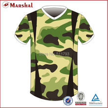 Army green color Men football shirts,Thai quality original football shirt,3D sublimation soccer jersey grade ori(China)