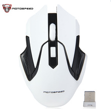 Motospeed G409 2.4GHz Wireless Gaming Mouse Human Ergonomic Design Adjustable DPI Auto Sleep Support Windows Linux Mac OS