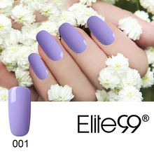 Elite99 Pink Purple UV Nail Gel Polish Soak Off Long-lasting Varnish Gel Polish Manicure Nail Art Tips Polish Design UV Gel