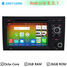 4G LTE 1024X600 Octa Core 2GB RAM Android 6.0.1 Car DVD Player For Audi A4 2002-2007 Seat Exeo 2009-2012 Radio GPS CanBus System