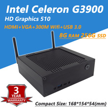 [Intel Celeron G3900] DIY mini desktop pc With HD Graphics 510, Dual Channel DDR4 2133 RAM, 300M Wifi, Bluetooth 4.0, 2.9GHz