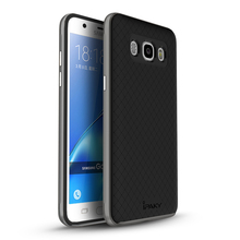 Free tempered glass!luxury brand ipaky back cover For samsung galaxy j7 2016 case with PC frame Silicon Protector Shell design