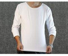 Blank Shirt de Compra Long Blank baratos Sleeve Long lotes T kuXPiTOZ