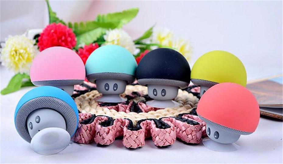 Wireless Mini Bluetooth Speaker Portable Mushroom Waterproof Stereo Bluetooth Speaker for Mobile Phone iPhone Xiaomi Computer PC  (5)