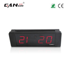 "[Ganxin]1"" Mini Led Alarm Clock with Mounting Brackets Countdown Count up Function Made in China"
