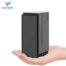 LYMOC New Phone Bluetooth Speakers Wireless Subwoofer Indoor TF Card U-Disk MP3 Player Speaker Hi-Fi AUX for All Phone PC Table(China)
