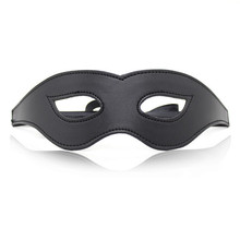 Black Sexy Flirting Leather Mask for Couple Sex games Stage props Club Carnival Sextoys