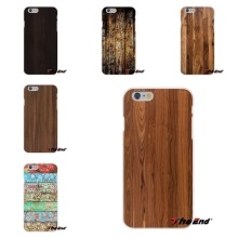 Original Wooden wood pattern Print Silicone Soft Phone Case For Huawei G7 G8 P8 P9 Lite Honor 5X 5C 6X Mate 7 8 9 Y3 Y5 Y6 II