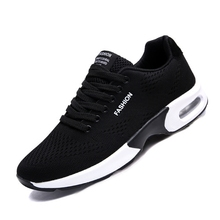 Buy men outdoor air sole running shoes sneakers men breathable sport jogging training shoes lightweight running sneakers men for $29.63 in AliExpress store