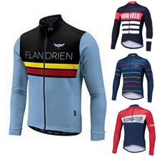 Buy 11 color Winter Thermal Fleece Cycling Jersey 2017 long sleeve Ropa ciclismo hombre Bicycle Wear Bike Clothing maillot Ciclismo for $23.60 in AliExpress store