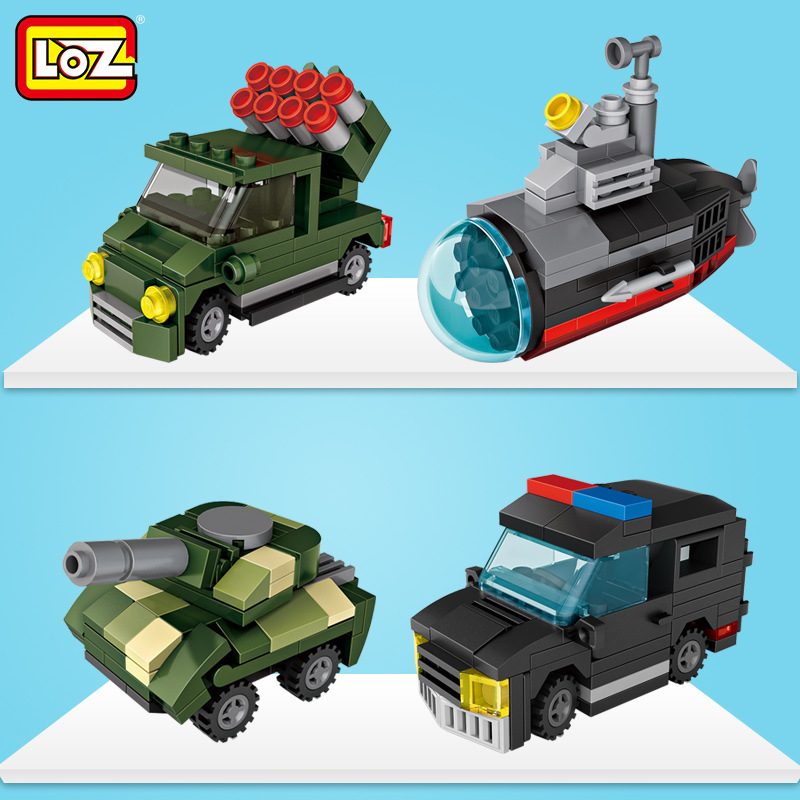 Building & Construction Toys Toys & Hobbies Clever 182-203 Pcs 6 In 1 Gashapon Buliding Block Stacking Car Aircraft Brand Block Toys Children Educational Learning Toys Spacecraft