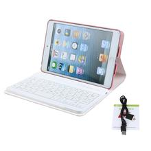 Fashion Smart Leather Case Cover with Flexible Bluetooth Wireless Keyboard For iPad Mini 1 2 3 Jun28