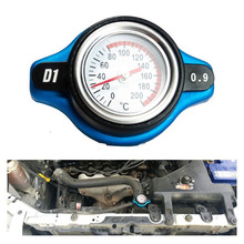 0.9Bar Big Head Car Thermostatic Radiator Cap Cover with Water Temp Temperature Gauge 1.3BAR for Nissan 200SX 240SX 350Z