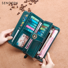 Hot Sale Clutch Quality Clutch 2017 New Arrival Long Wallet Ladies Wallet(China)