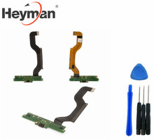 Heyman Flat Cable for Nokia 1520 Lumia (charge connector with components with microphone) free shipping+tools(China)