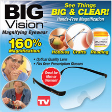 Big Vision Plastic Glasses 250 /160 Degrees Magnifying Eyewear Presbyopic Glasses See  More Better Dial Vision Lens Eyeglass