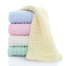 Comfortable Baby Soft Bath Towel Washcloth Bathing Feeding Wipe Cloth Natural Harmless Infant Baby Towel(China)