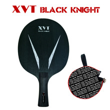 Original XVT  Black Knight  5 ply Ayous  Table Tennis Blade/ ping pong blade/ table tennis bat  with Half Cover  Free shipping