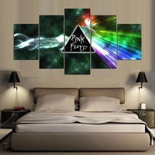 5 panels printed Pink Floyd rock music canvas painting for wall art bedroom home decoration poster fashion artwork ID-288