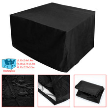 High Quality Cheap Price 3 Different Size Rect BBQ Outdoor Garden Patio Table Desk Chair Furniture Cover Waterproof