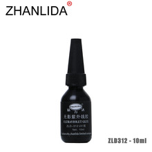ZHANLIDA 312 10ML Ultraviolet UV Glue Transparent Metal Plastic Crafts Shadowless Rapid Solidification Glue High Adhesive(China)