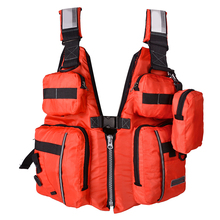 Adult Life Jacket Vest PFD Fully Enclose Foam Boating Water Fishing Safety Jackets Colete Salva Vidas With Whistle