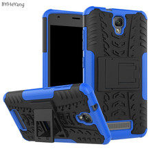 For ZTE Blade L5/L5 Plus Cover with Stand TPU & PC Dual Hard Silicone Armor ShockProof Anti-Skid Case For ZTE Blade L5 Plus 5.0""