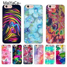 MaiYaCa Art Oil Painting Graffiti Pattern inked printed Coque Shell Phone Case for Apple iPhone 8 7 6 6S Plus X 5 5S SE 5C Cover(China)