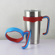 1PC Universal Standard 20 Ounce Cup Holders Stainless Steel Insulated Tumbler Mug Handle Water Bottle Mugs Cup Handle 13.5x9.6cm