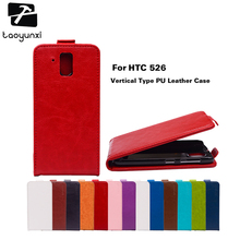 TAOYUNXI Flip Phone Covers Cases For HTC Desire 526 326 G 526G 326G 326 526G+ 530 630 Case Cover Magnetic PU Leather Covers Bags