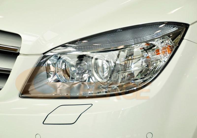 MERCEDES BENZ C Class W204 C204 S204 C300 C350 C63 2007-2011 Xenon headlight smd led angel eyes(1)