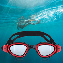 Waterproof HD Anti-fog Goggles Unisex Silicone Frame Swimming Glasses Plain Glass Goggles Adult Pool Swim Plate Eyewear mask