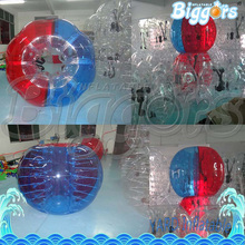 PVC Inflatable Bubble Soccer Football Ball For Children Zorb Ball Inflatable Human Hamster Ball Bumper Ball For Kids(China)