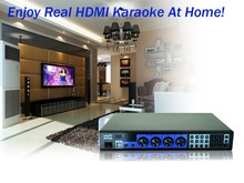 Professional HDD Karaoke Machine MTV Player 3TB, Professional karaoke system with songs,HDMI Suport Dual Hard Drive,Tablet/phone(China)