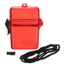 1pcs Portable Phone Storage Box Case Holder Outdoor Waterproof Camping Key Money Plastic Container Case