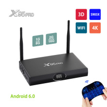 Buy X95 PRO Smart TV Box Android 6.0 Amlogic S905X Quad Core 2GB 16GB Wifi HDMI 2.0 4K Wifi Bluetooth 4.0 H.265 Media Player PK TX3 for $29.68 in AliExpress store