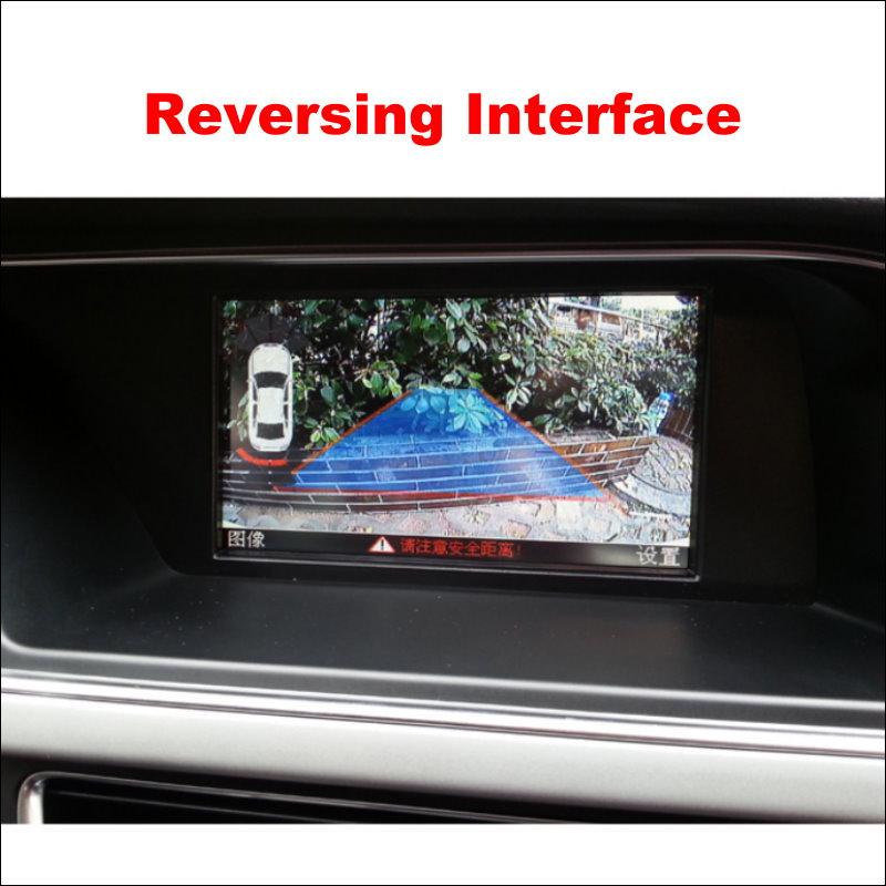 For Audi A4L Q5 A5 S5 A6L Original Screen Reversing Track Image + Parking Camera 9