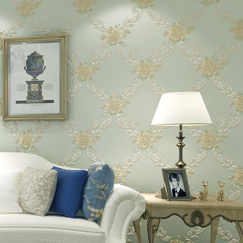 beibehang garden flowers Non-woven flooring wallpaper 3D wall paper roll papel de parede 3D wallpaper for walls 3 d papier peint<br>