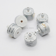 NEW 10pcs NMB 3V -5V DC 2 phase 4 wire Micro stepper motor step angle 18 degrees  with Metal gear free shipping