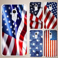 american flag Hard White Cell Phone Case Cover for Xiaomi Mi Redmi Note 4 Pro 4A 4C 4X 5X 5 6