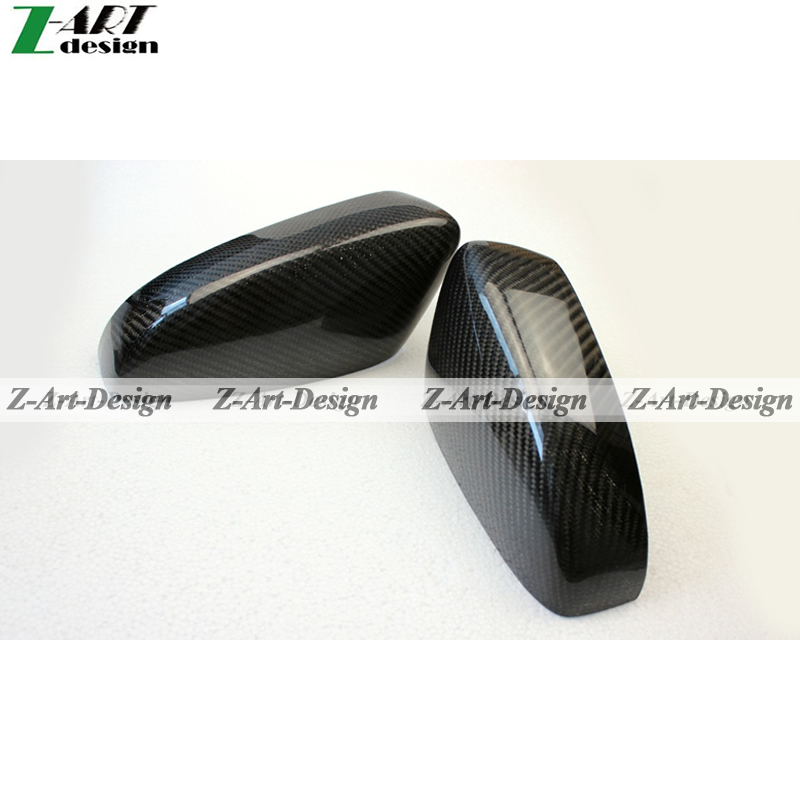 In stock One Pair Carbon fiber cover for Volkswagen VW Polo 2011, Z-ART Rear Mirror Cover for 2011 Polo Free DHL<br><br>Aliexpress