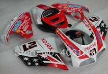 Hot Sales,Customized 996 96-02 full set For Ducati 996 1996-2002 XEROX Flag Motorcycle Fairings (Injection molding)